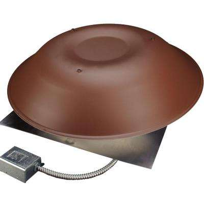 LomanCool 2000 800 CFM Brown Power Attic Vent