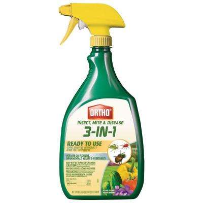 Insect, Mite and Disease Control 24 oz. 3-in-1 Ready-to-Use