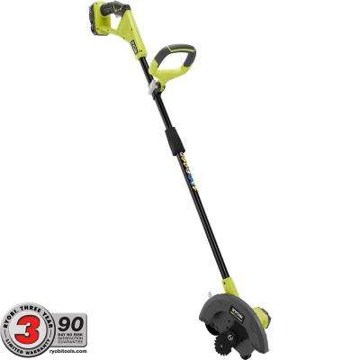 ONE+ 9 in. 18-Volt Lithium-Ion Cordless Edger, 1.3 Ah Battery and Charger Included