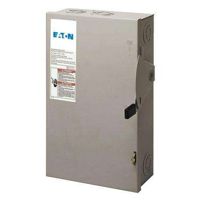 60 Amp 120/240-Volt 14,400-Watt Fused Safety Switch