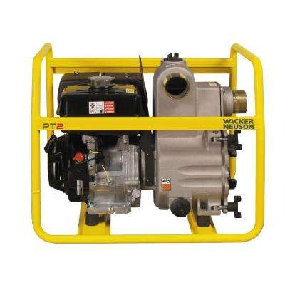 4.8 HP 2 in. Trash Pump Honda Engine with Hose Kit