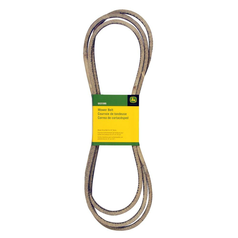 John Deere 54 In  Mower Deck Drive Belt-gx21395