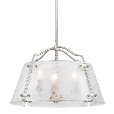Archdale 3-Light Brushed Nickel Pendant