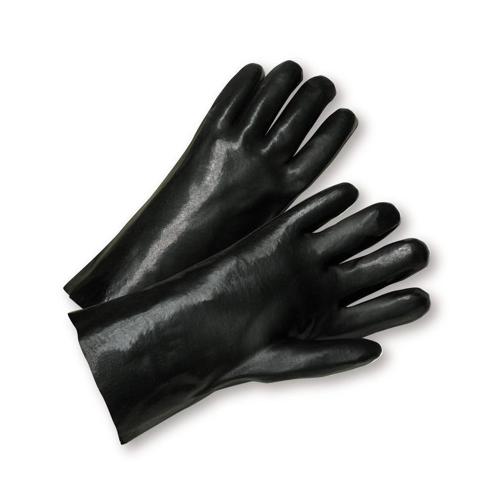 Standard Smooth Grip Dozen Pair PVC Interlock 14 Gloves
