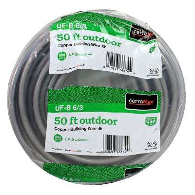 50 ft. 6/3 UF-B Wire