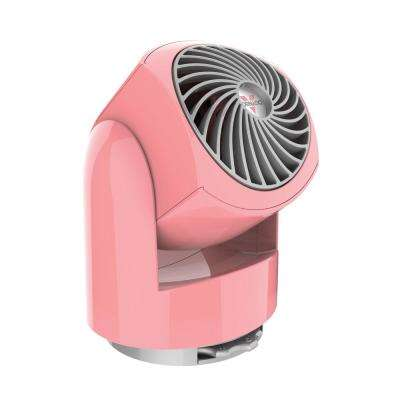 Flippi V6 3.4 in. Personal Circulator Fan in Coral Blush