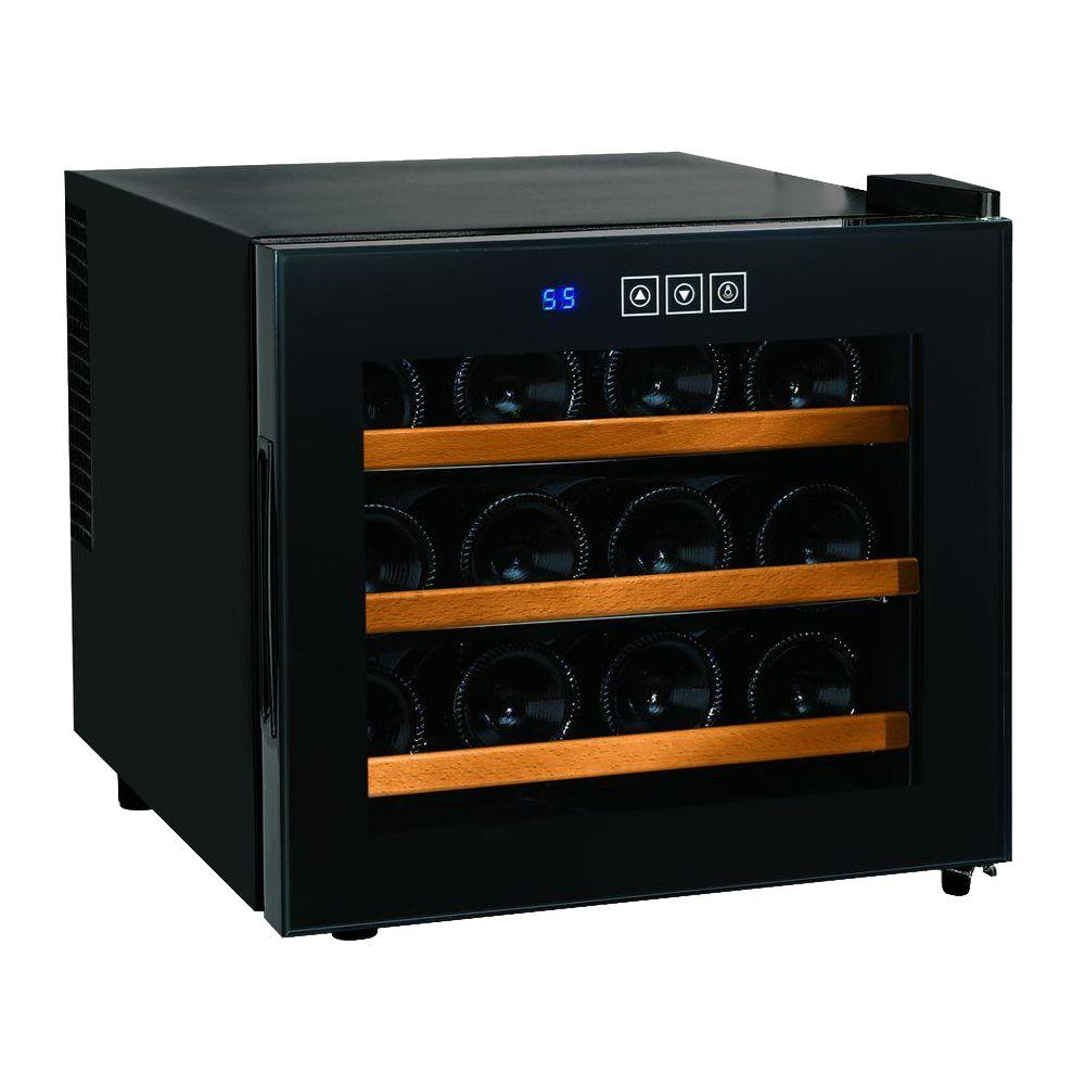 coolers wine cooler avanti platinum p countertop black bottle