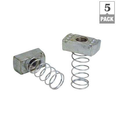 3/8 in. Strut Channel Spring Nut (5-Pack)