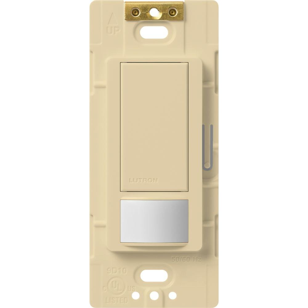 ivory lutron motion sensors ms ops5m iv 64_1000 lutron maestro motion sensor switch, 5 amp, single pole or multi ms-ops5mh-wh wiring diagram at bayanpartner.co