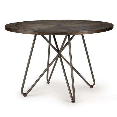 Derek Round Grey Dining Table
