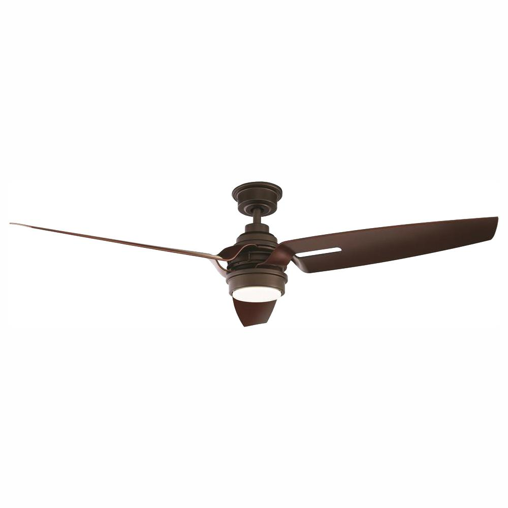 home decorators collection iron crest 60 in  led dc motor indoor espresso  bronze ceiling fan