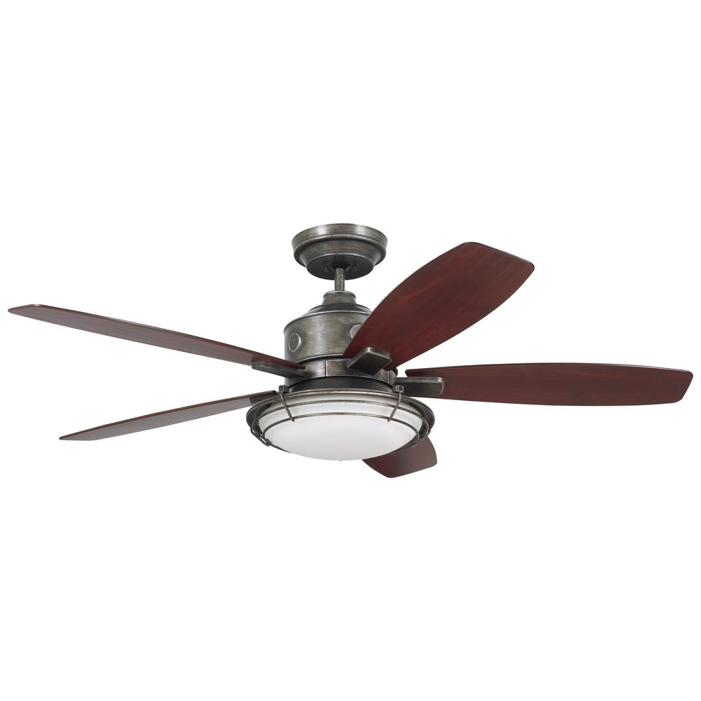 emerson ceiling fans emerson rockpointe 54 in indoor outdoor vintage steel 10821