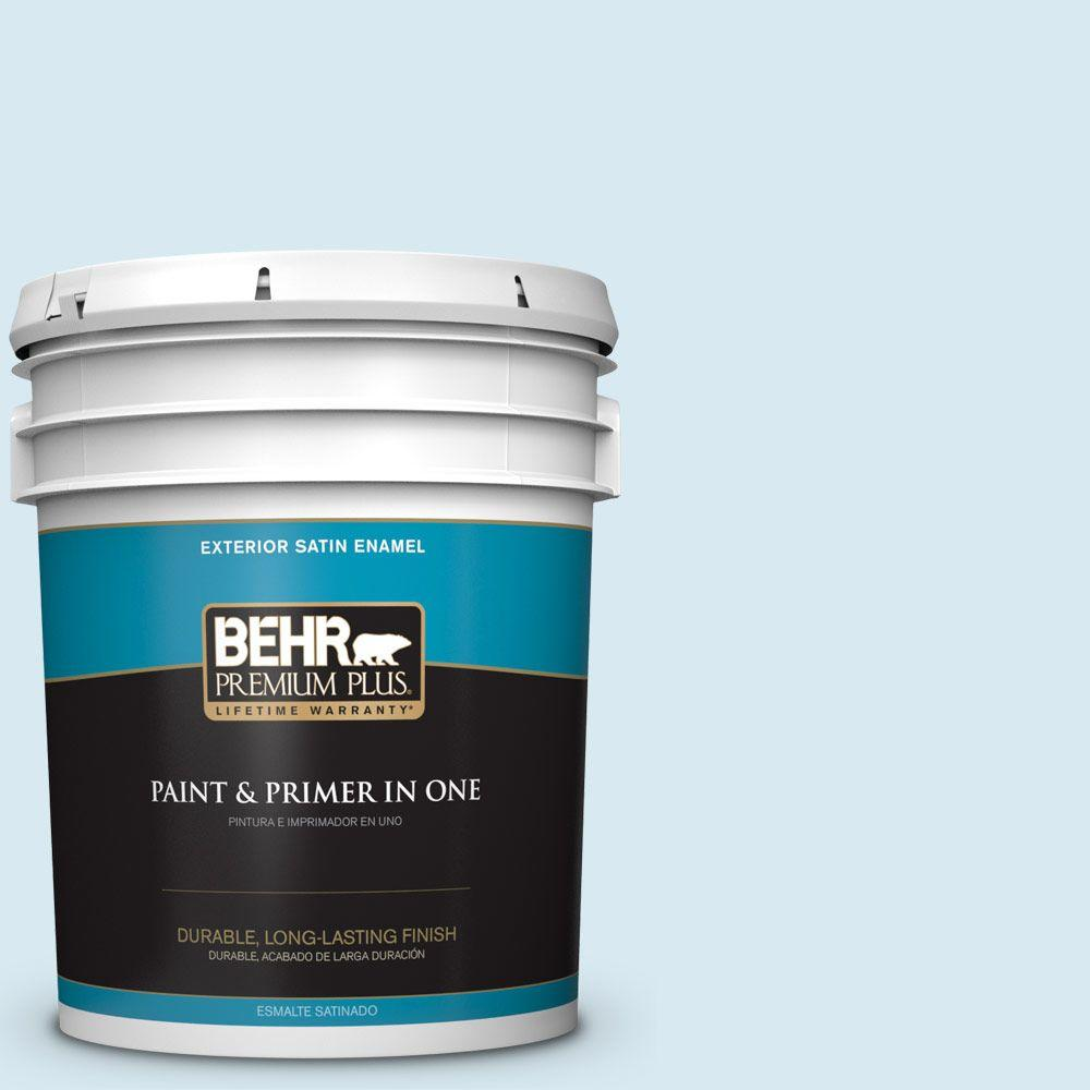 5-gal. #540A-1 Frost Wind Satin Enamel Exterior Paint
