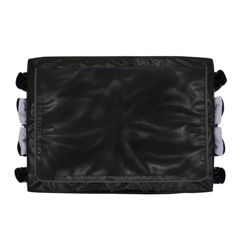 Collapsible X-Cart Replacement Bag Black 8 Bushel
