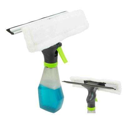 Brilliant 3 in 1 Glass Squeegee with Handle