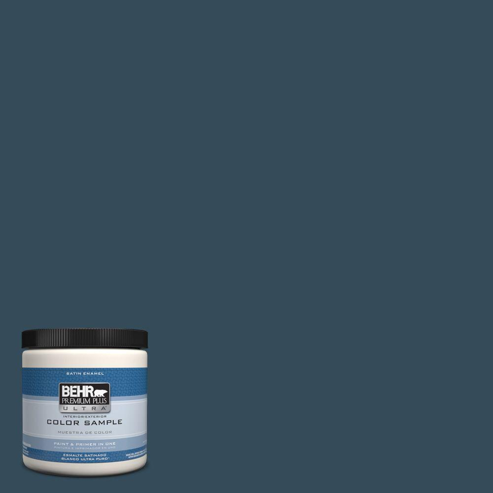 Behr Premium Plus Ultra 8 Oz Hdc Cl 28 Nocturne Blue
