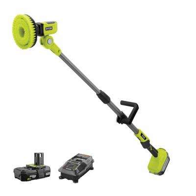 18-Volt ONE+ Power Scrubber with 2.0 Ah Battery and Charger Kit