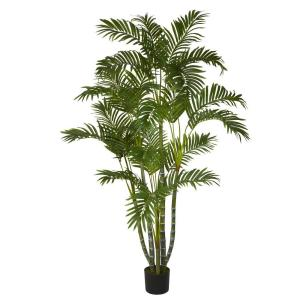 5 ft. Green Areca Silk Tree
