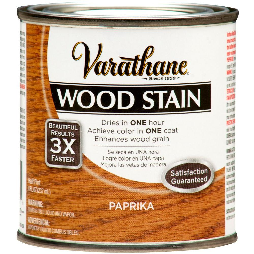 1/2-Pint Paprika Wood Stain