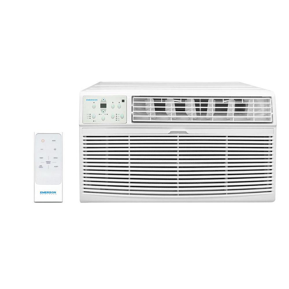 115-Volt 8,000 BTU Through The Wall Air Conditioner with Remote Control