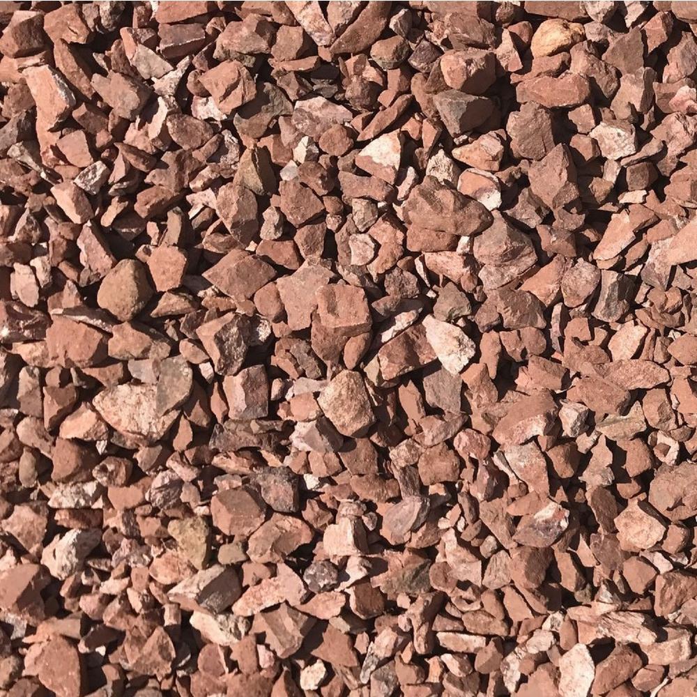 0.50 cu. ft. 40 lbs. 3/4 in. Chestnut Red Decorative Landscaping Gravel (20-Bag Pallet)