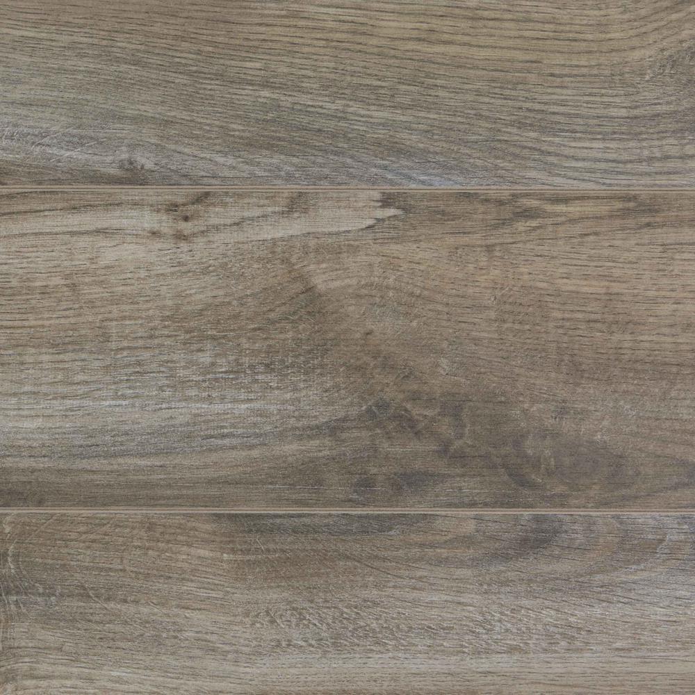 Take Home Sample - 12mm Rivendale Oak Laminate Flooring - 5 in. x 7 in.