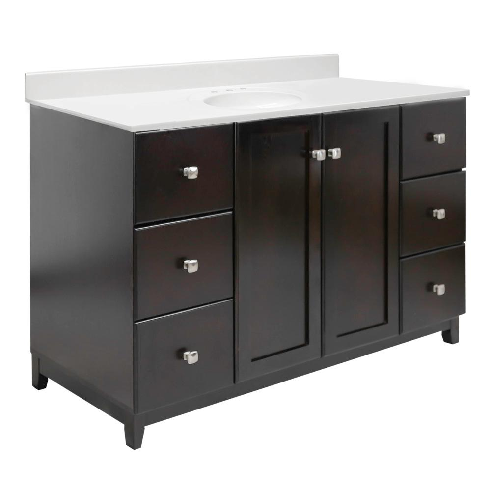 Design House 48 In X 21 In X 33 In 2 Door 6 Drawer