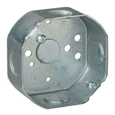 3-1/2 in. Steel Octagon Box (Case of 25)