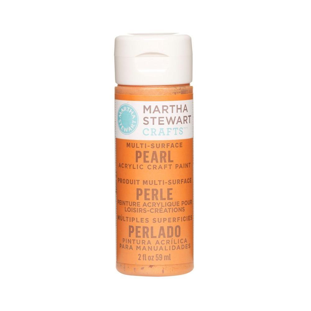 Martha Stewart Crafts 2-oz. Tiger Lily Multi-Surface Pearl Acrylic Craft Paint