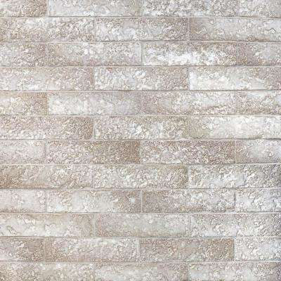 Weston Temp Light Gray 2 in. x 8 in. 14mm Glazed Clay Subway Wall Tile (40-piece 4.78 sq. ft. / box)