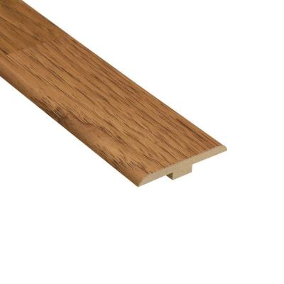 Hickory 1/4 in. Thick x 1-7/16 in. Wide x 94 in. Length Laminate T-Molding