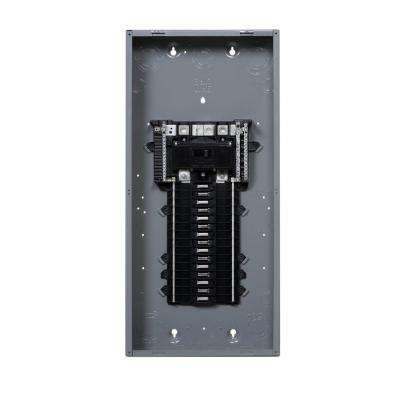 QO 200 Amp 30-Space 30-Circuit Indoor Main Breaker Plug-On Neutral Load Center without Cover
