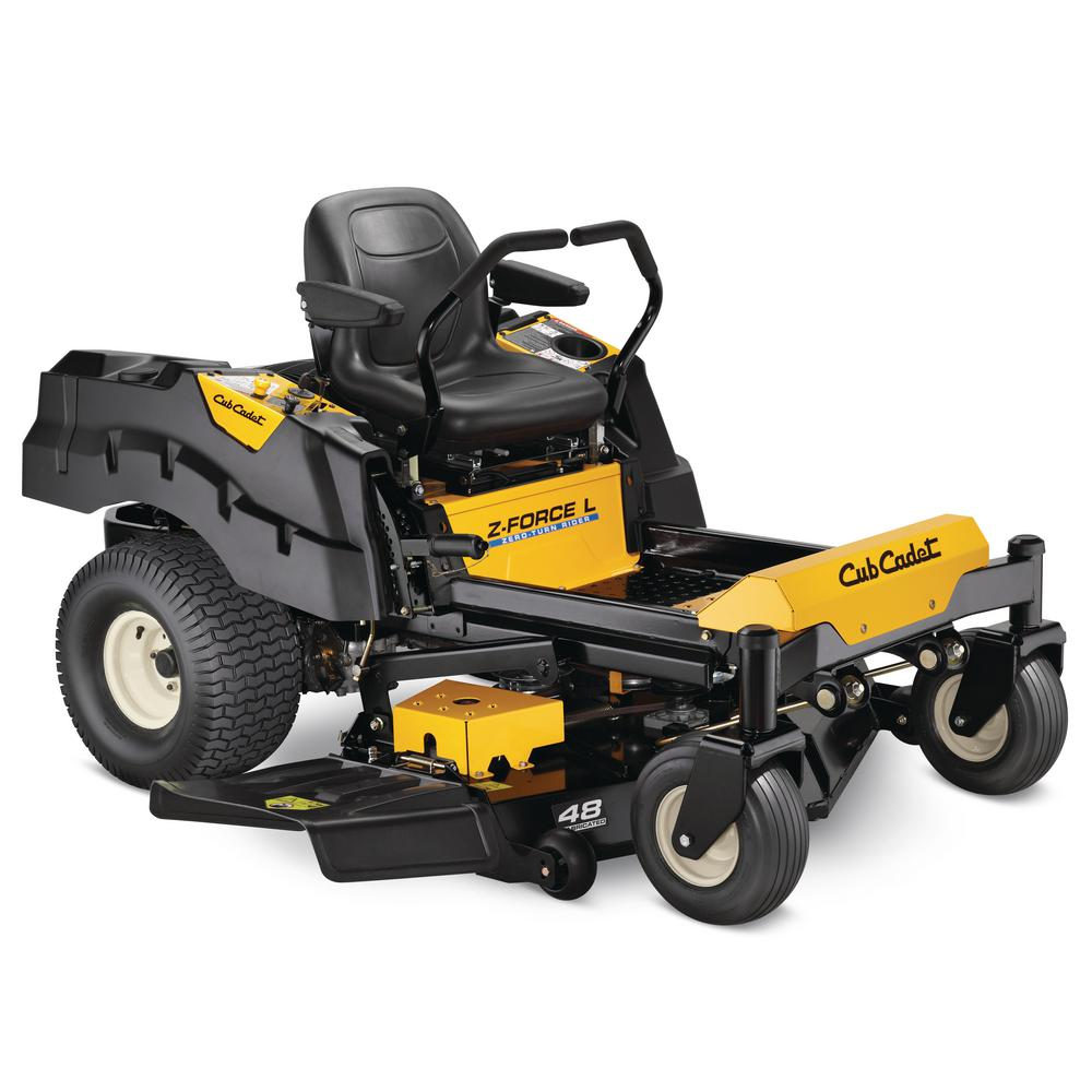 Z-Force L 48 in. 24 HP Fabricated Deck KOHLER Pro V-Twin