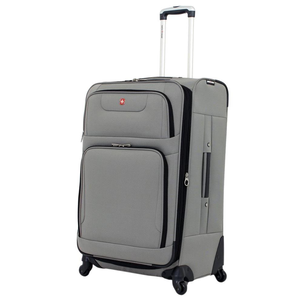 Swissgear 28 In Spinner Suitcase Pewter