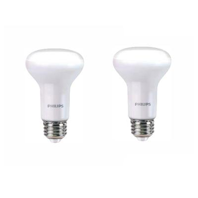 45-Watt Equivalent R20 Dimmable LED Energy Star Light Bulb Soft White with Warm Glow Light Effect (2-Pack)