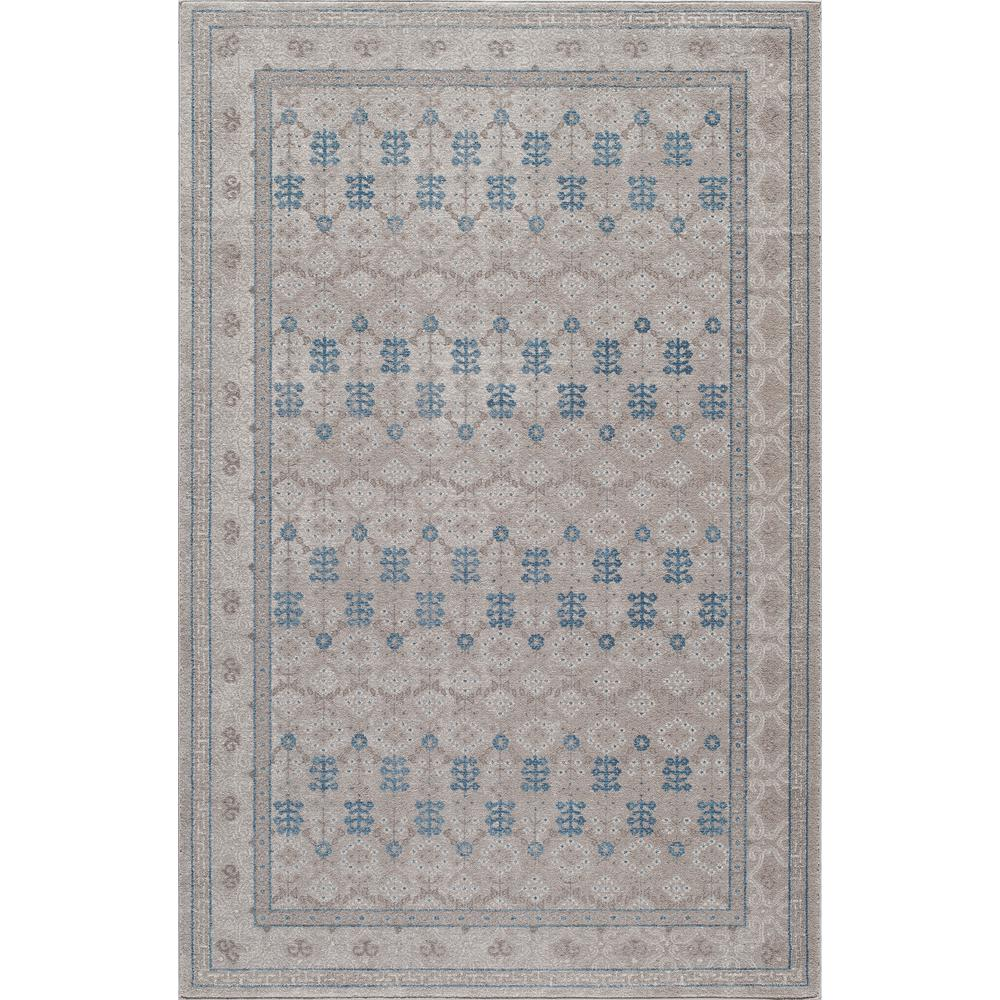 Kerman Taupe 5 ft. 3 in. x 7 ft. 6 in.