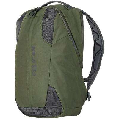 21.26 in. Green Lightweight Backpack with Water-Resistance