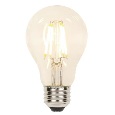 60-Watt Equivalent A19 Dimmable Filament LED Light Bulb Soft White Light