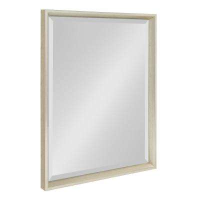 Calter Rectangle Silver Wall Mirror