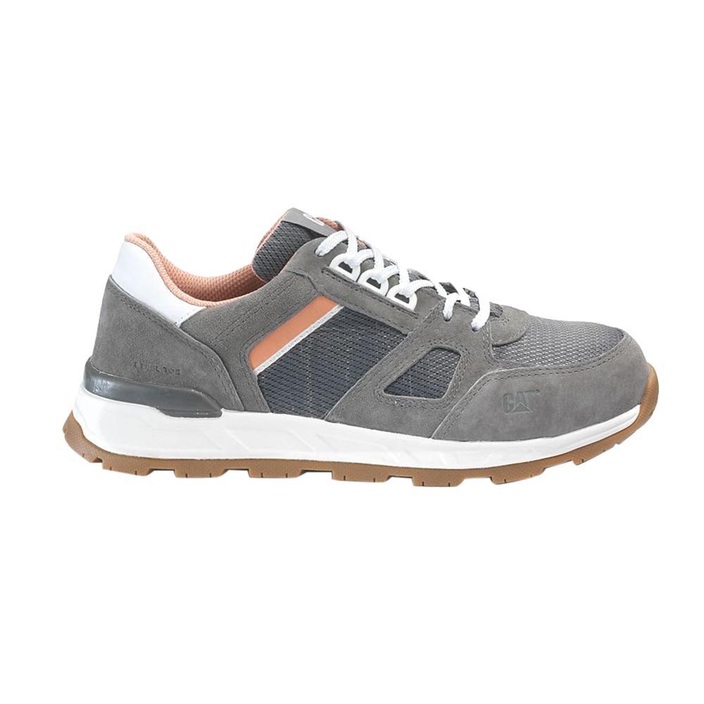 CAT Footwear Women's Cloudburst Slip Resistant Athletic Shoes Steel Toe Cloudburst Size 8.5(W)