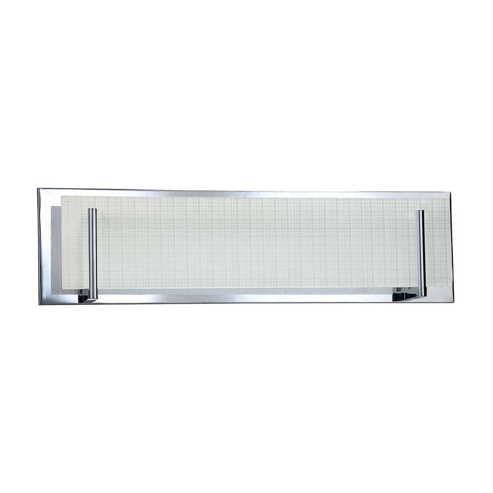 Kendal Lighting Cassiopeia 3-Light Ceiling Chrome Incandescent Vanity