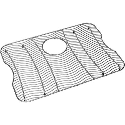 Lustertone 22 in. x 15.75 in. Bottom Grid for Kitchen Sink in Stainless Steel
