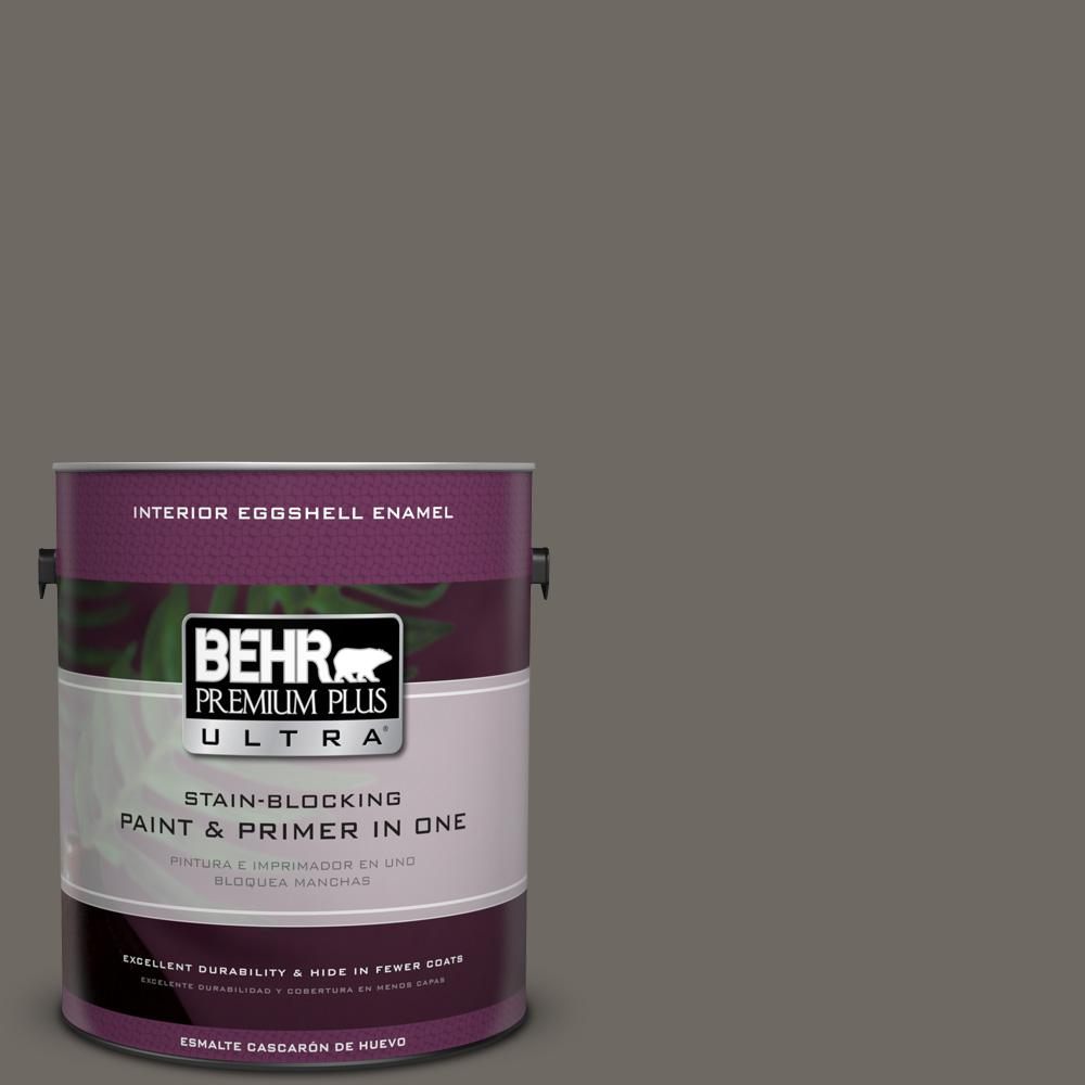 1 gal. #PPU24-04 Burnished Pewter Eggshell Enamel Interior Paint