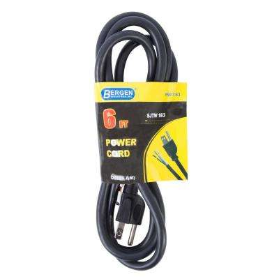 6 ft. 16/3 SJTW 3-Wire Appliance/Power Tool Cord