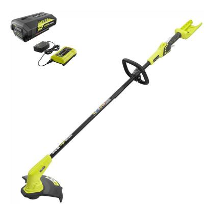 40-Volt Lithium-Ion Cordless String Trimmer – 2.0 Ah Battery and Charger Included