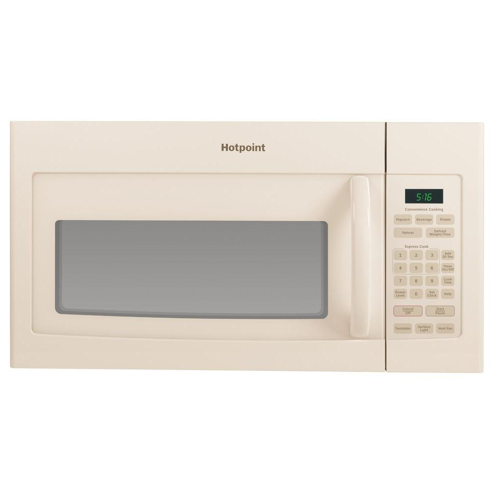 Hotpoint 1.6 cu. ft. Over the Range Microwave in Bisque