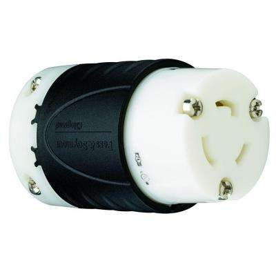 Turnlok 20 Amp 125-Volt NEMA L5-20R Connector