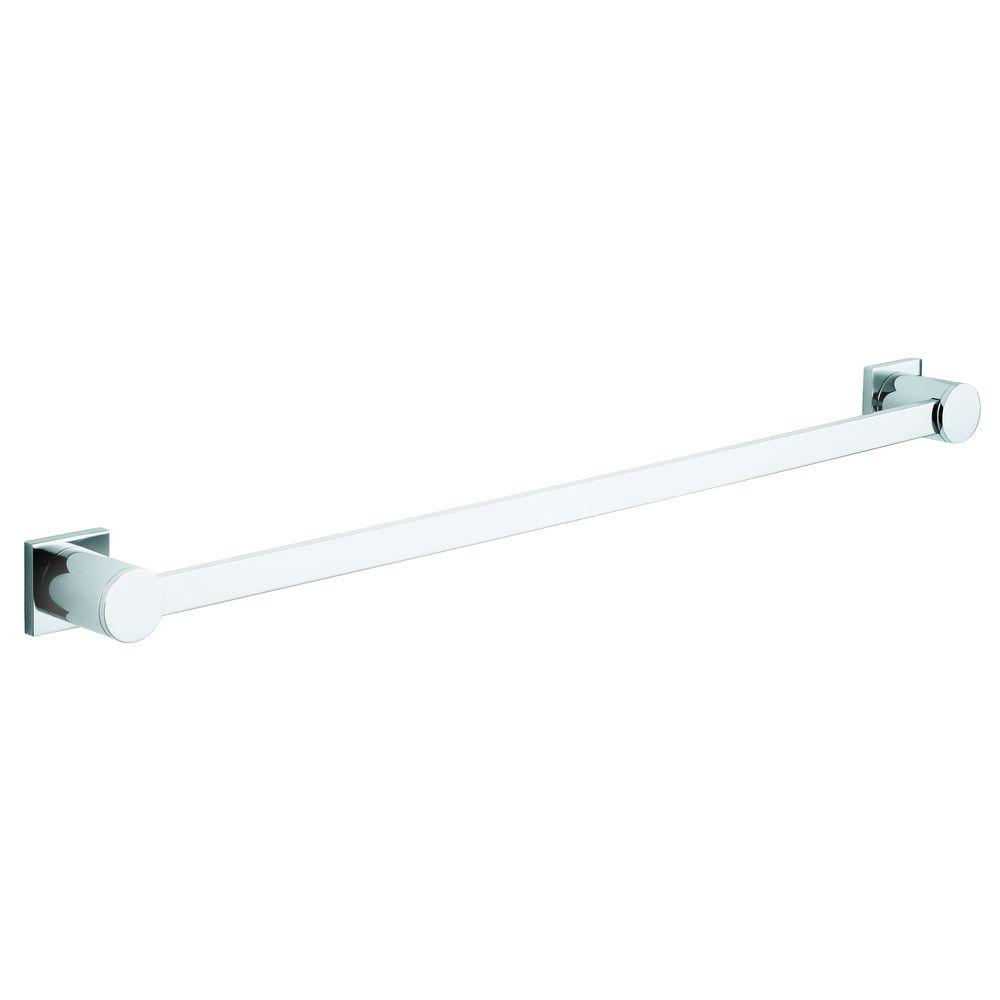 GROHE Allure 24 in. Towel Bar in Starlight Chrome