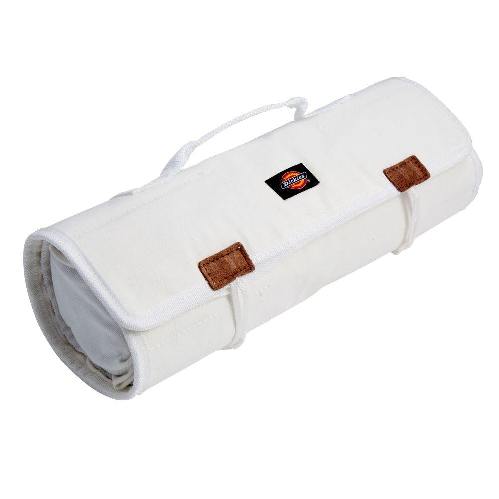 23-Compartment Large Tool / Wrench Roll, White