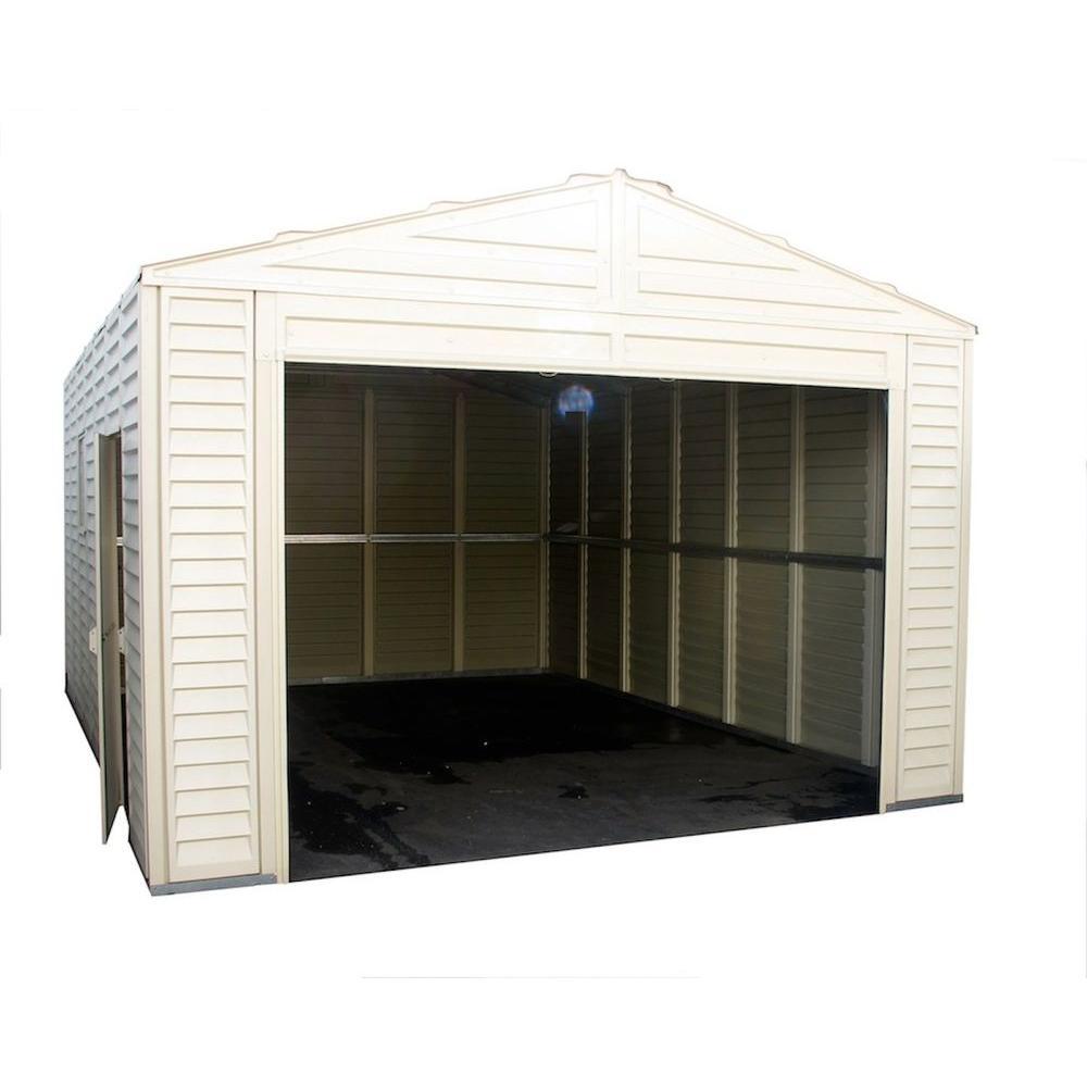 Duramax Building Products 13 ft. x 18 ft. Vinyl Barn Garage